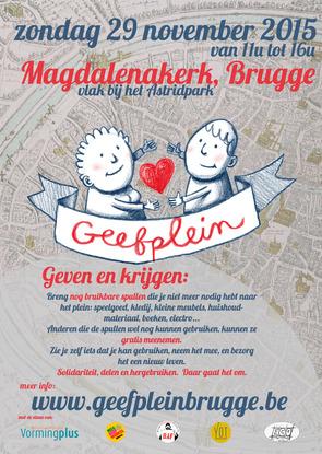 Een tweede Geefplein in Brugge