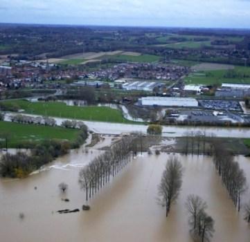 Wateroverlast gevolg van bettonneringsdrang