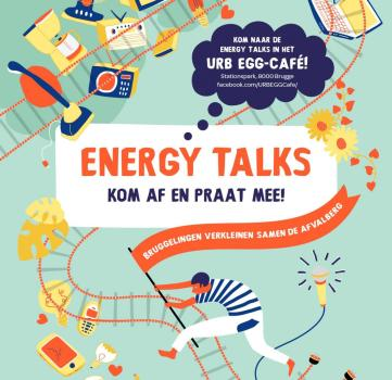 Energy-talks in URB EGG-café