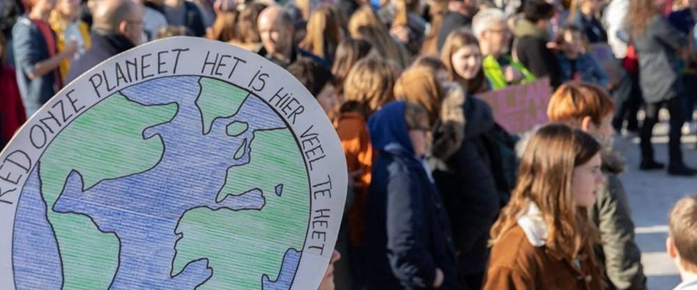 2e klimaatmars kent maar magere opkomst