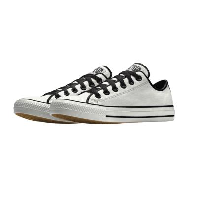 Bruidegom Converse Mono White Black bruidssneakers.nl