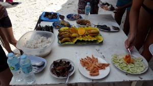 Eten bij Island toer C