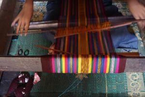 Traditioneel Weven Sasak Sade Village