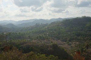 Landschap Kuta Lombok