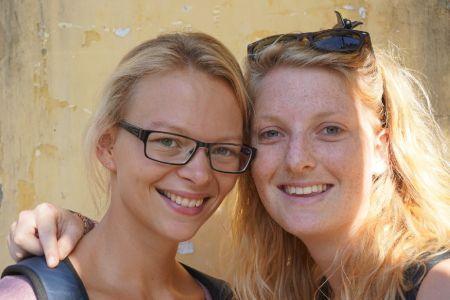 Annika en Hester
