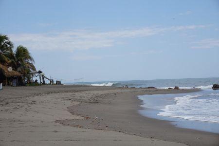 Black beach Las Penitas