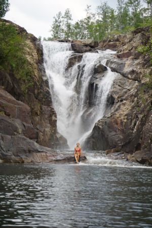Big Rock Waterfall