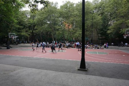 Basketball in the projects