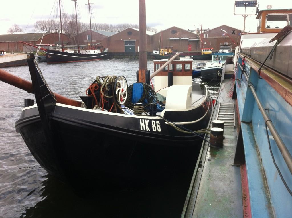 Noordzeebotter hk86 Harderwijk