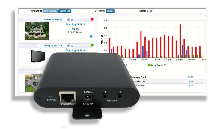 Data Host | Power/Energy Monitors | Brultech Research Inc
