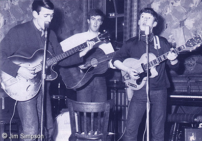 Muff, Spencer, and Steve at The Golden Eagle in 1963