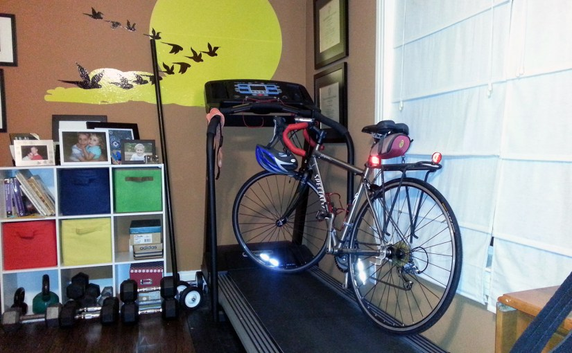 bike and treadmill