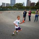 Luke runs