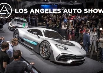 Mercedes-Benz auf der Los Angeles Auto Show 2017   Mercedes-Benz at the Los Angeles Auto Show 2017