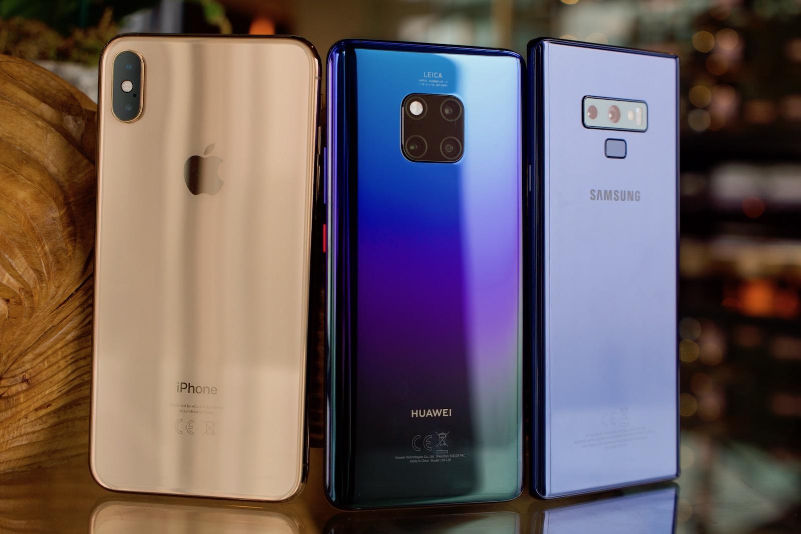 Huawei Mate 20 Pro vs iPhone XS Max vs Galaxy Note 9 Camera Comparison