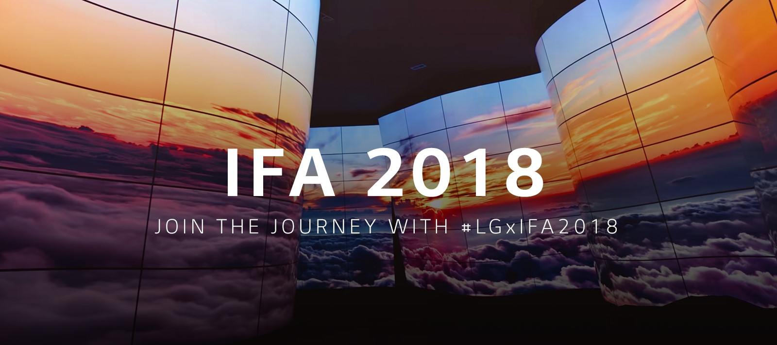 lg ifa 2018 landing page key visual pc