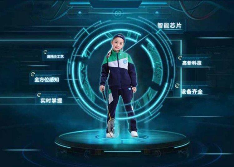Chinese School smart uniform