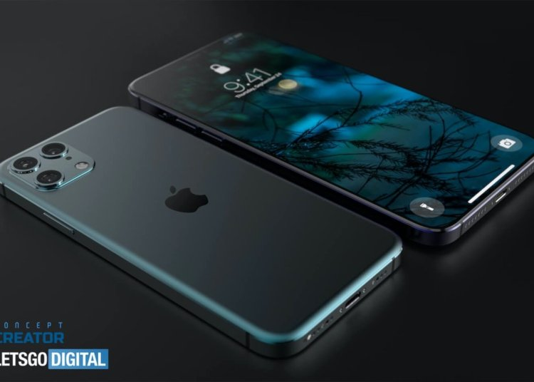 iPhone 12 render (C)Let's Go Digital