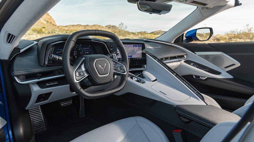 Steering wheel of the 2020 Chevrolet Corvette Stingray
