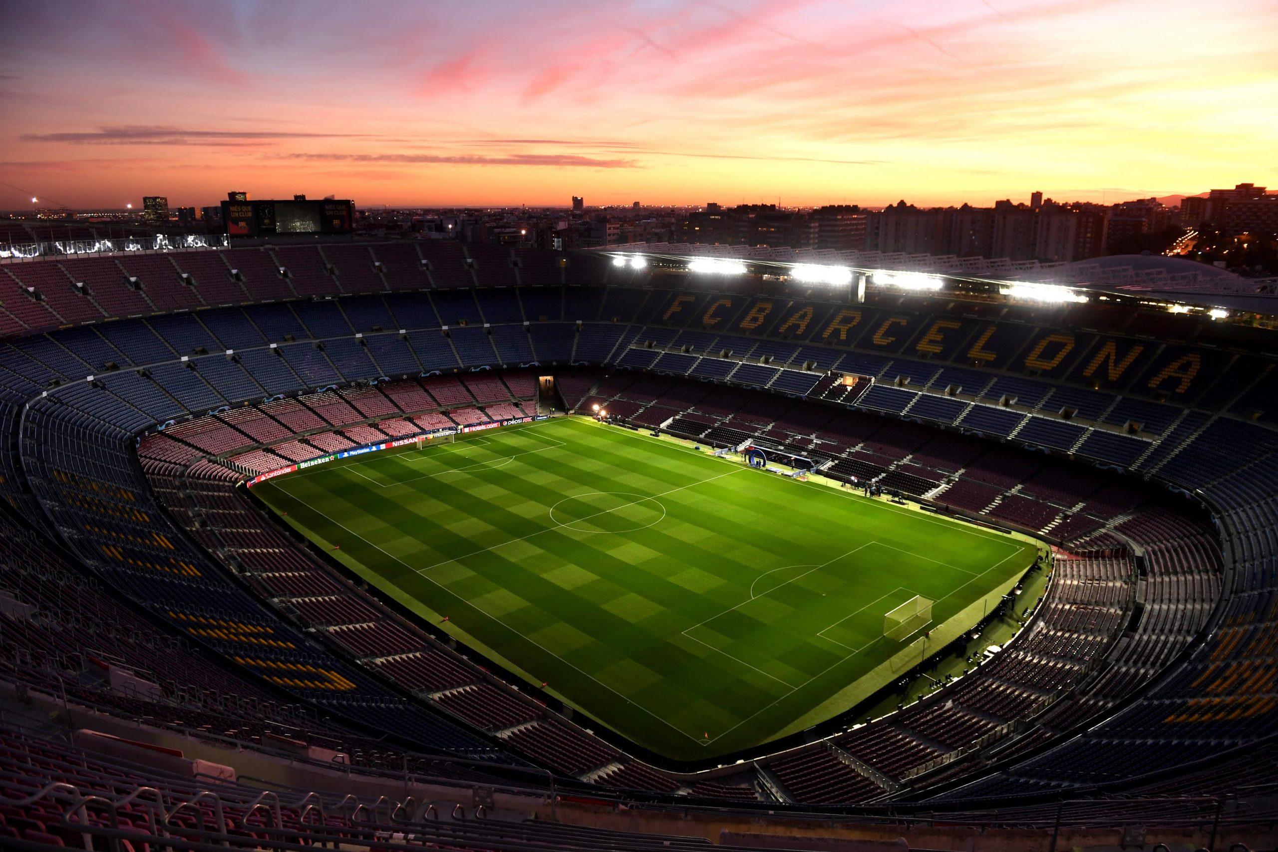 Football stadium closed