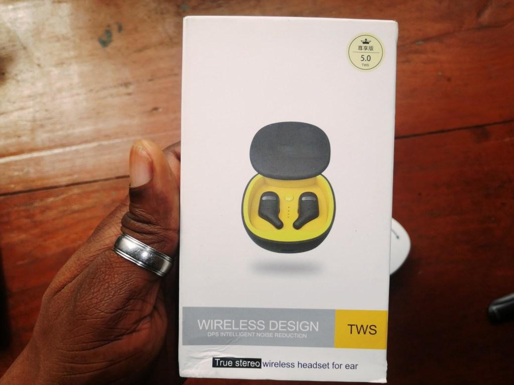 SZWYOR A2 TWS Earbuds box