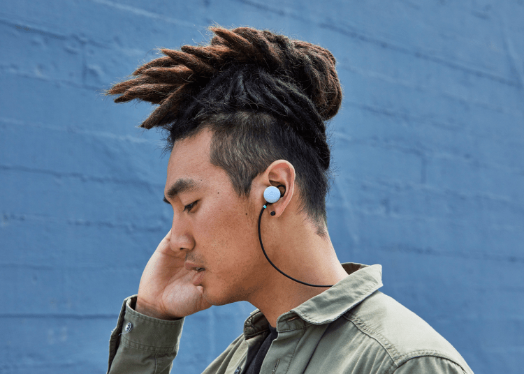 Straps of the Google Pixel Buds 2
