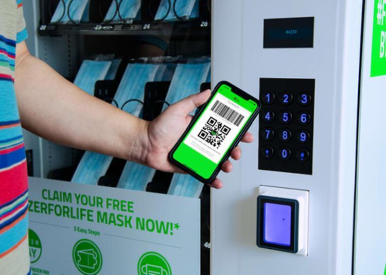 Razer vending machine