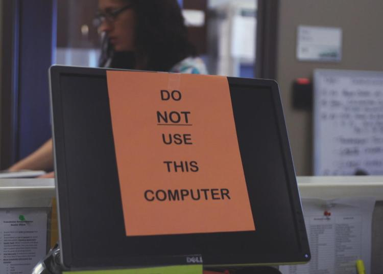 do not use this computer