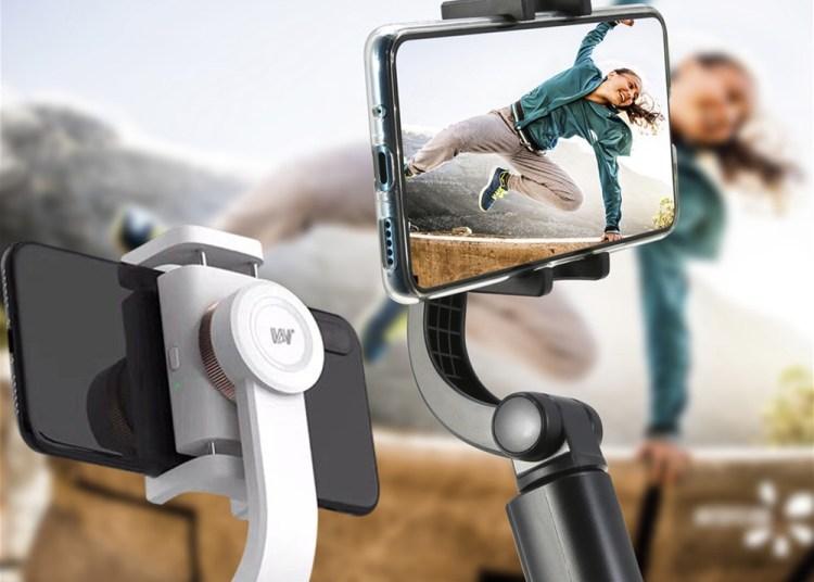 Selfie stick gimbal
