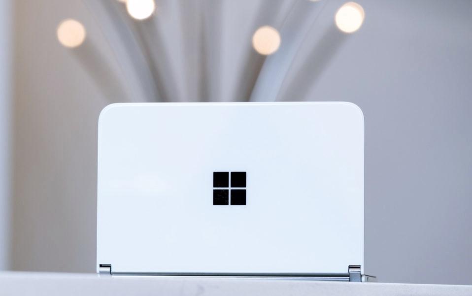 Microsoft Surface Duo is sleek