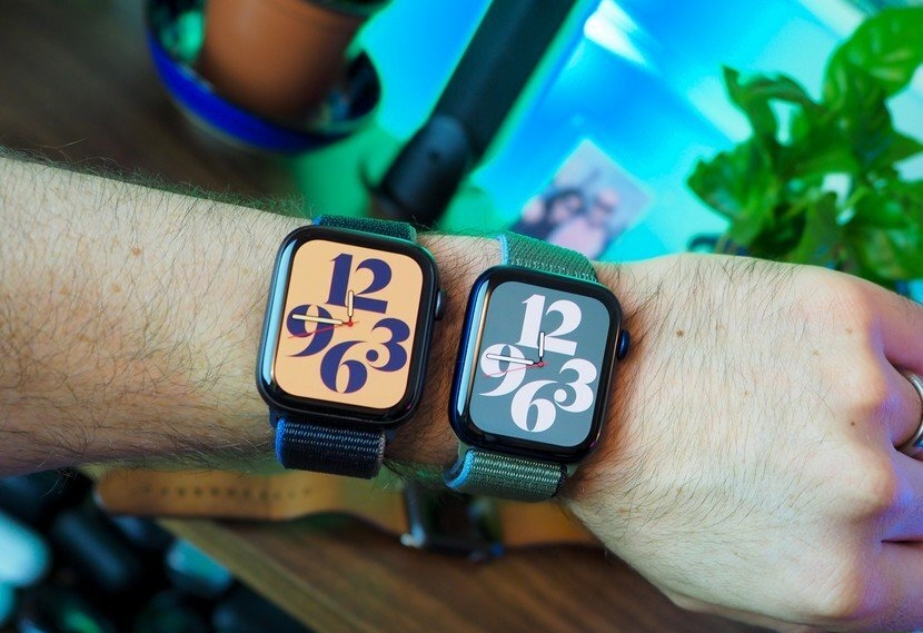 The cool displays of the Watch Series 6 and Apple Watch SE
