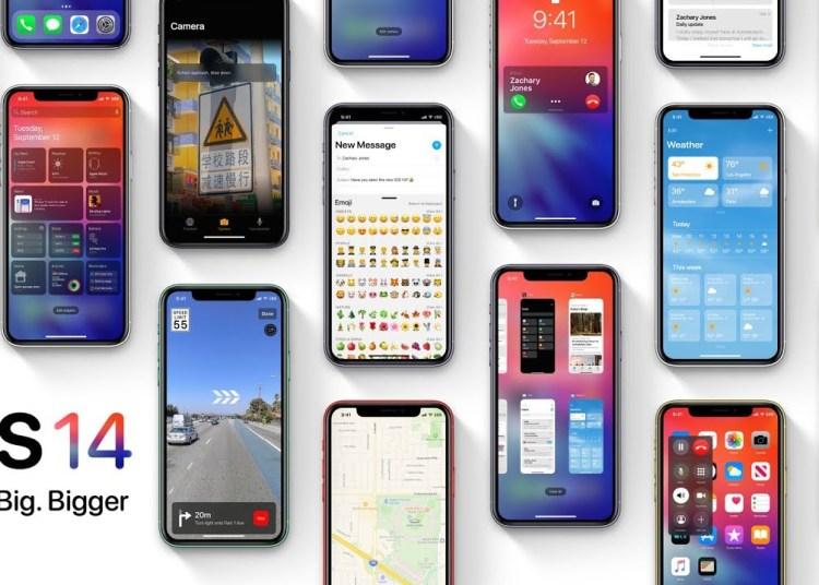 clean install iOS 14