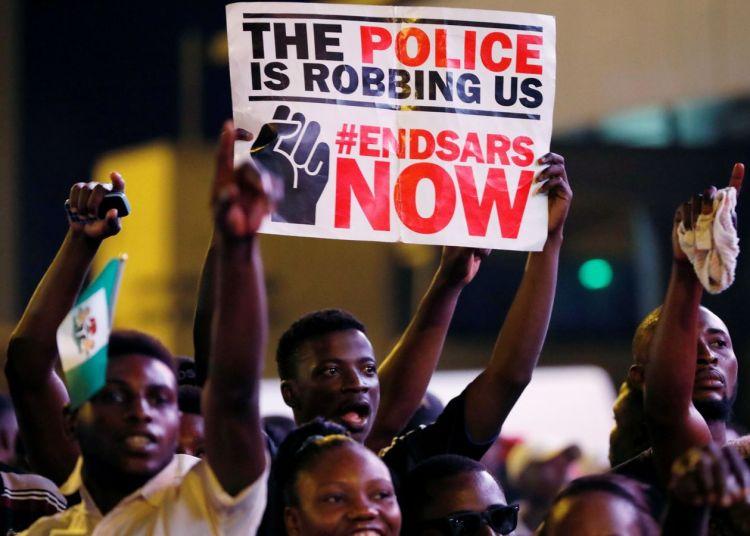 EndSARS Protest in Nigeria