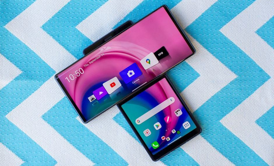 LG Wing 5G looks like two smartphones joined together