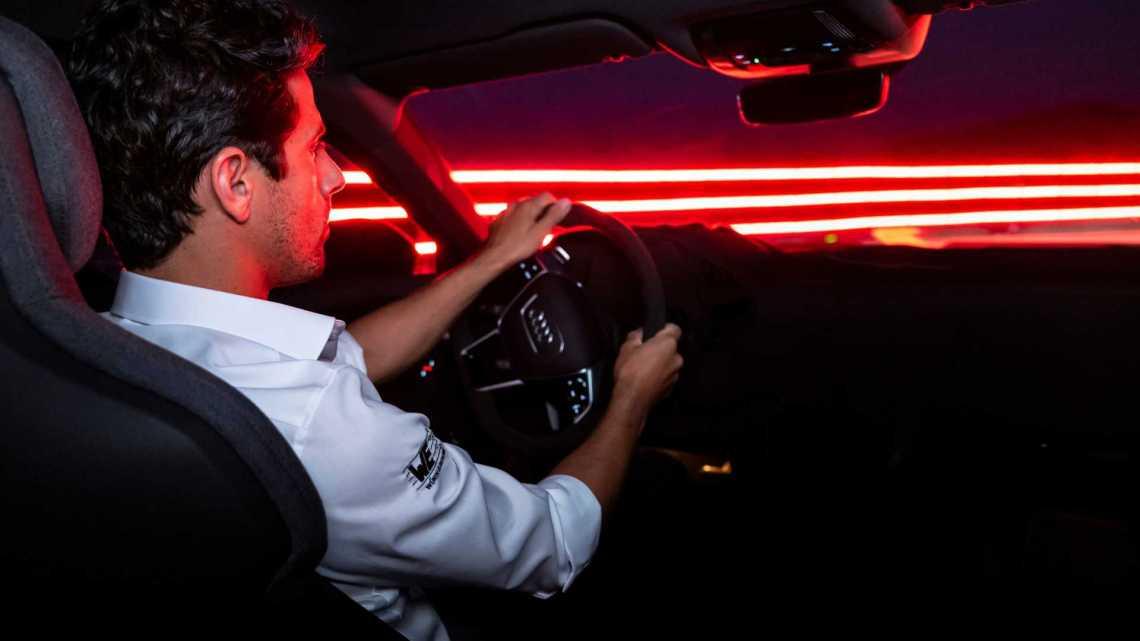 RS E-Tron GT interior