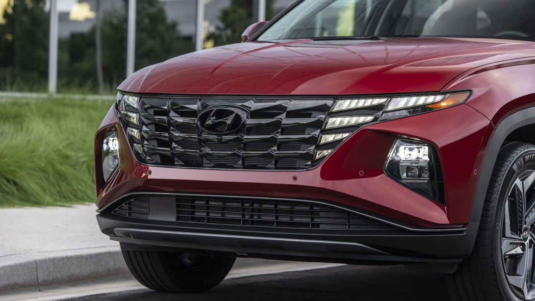 Hyundai Tucson 2022 grille