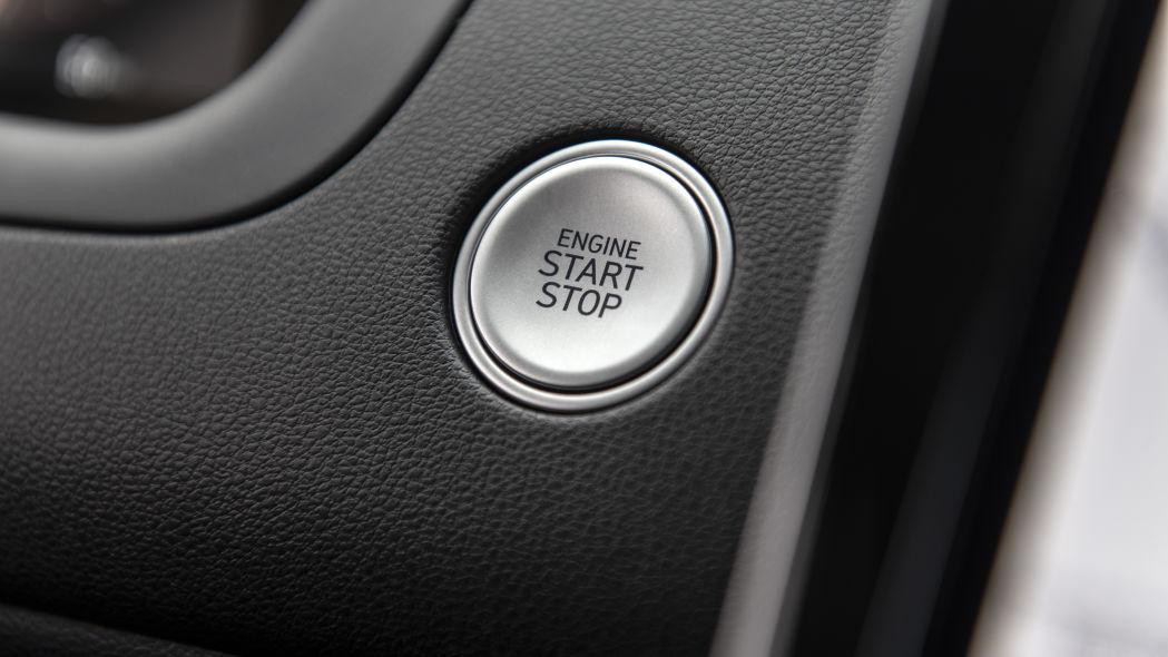 Hyundai Tucson 2022 push to start button