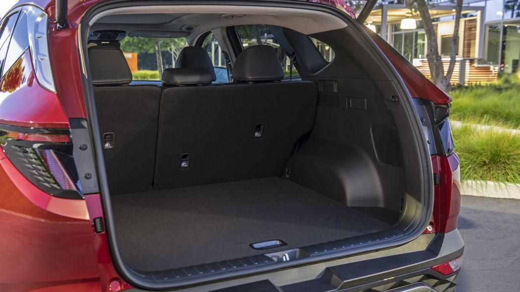Hyundai Tucson 2022 luggage