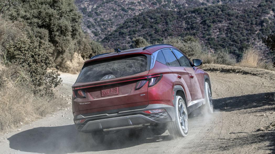 Hyundai Tucson 2022 back design