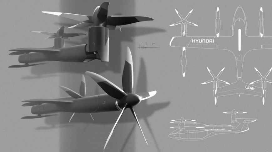 The rotors of the Hyundai Concept S-A1