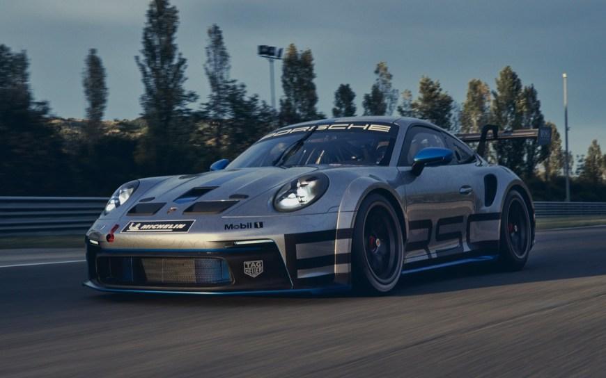 Porsche 911 GT3 Cup 2021 transmission