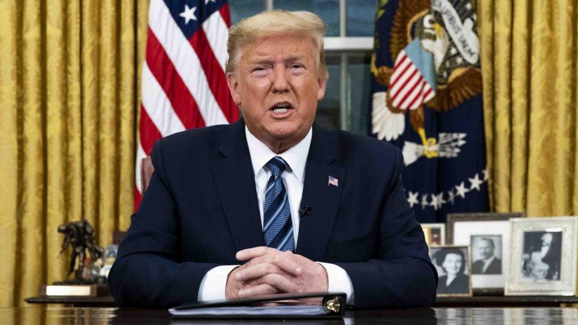 Trump attempt to alter covid-19 bill blocked