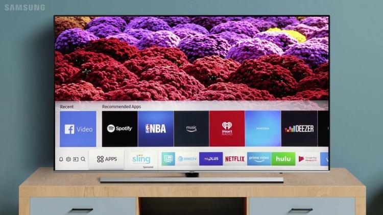 Samsung Tizen OS TV sales