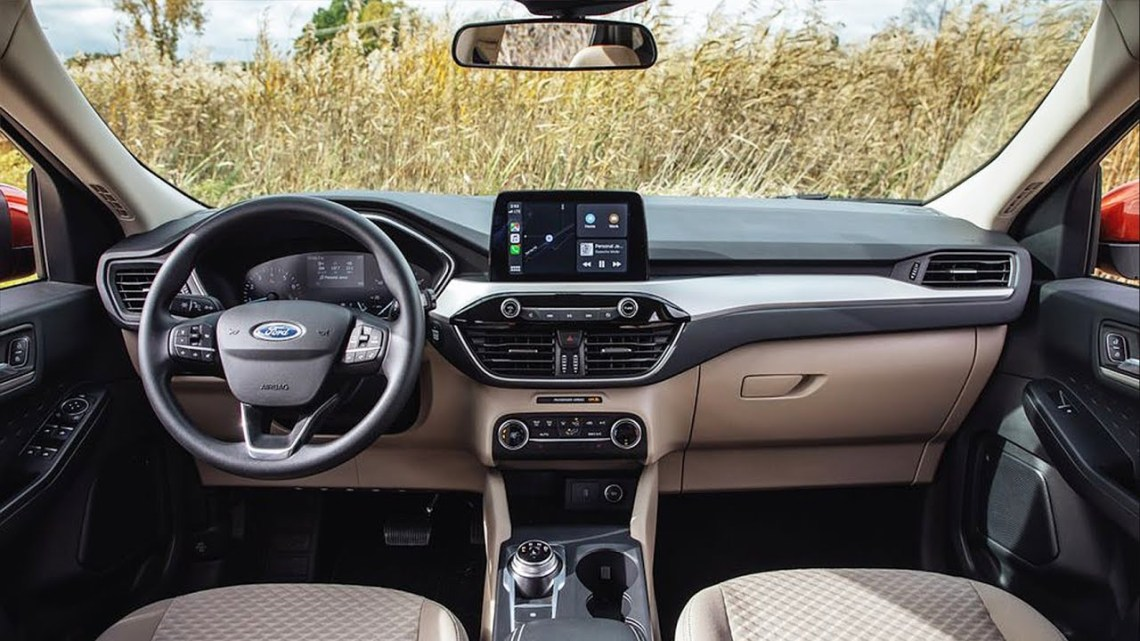 Ford Escape 2021 interior