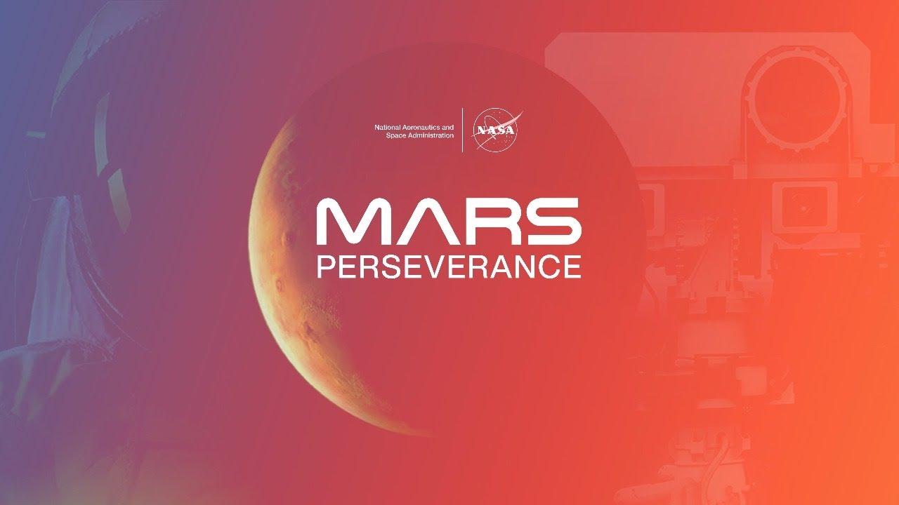 NASA Perseverance poster