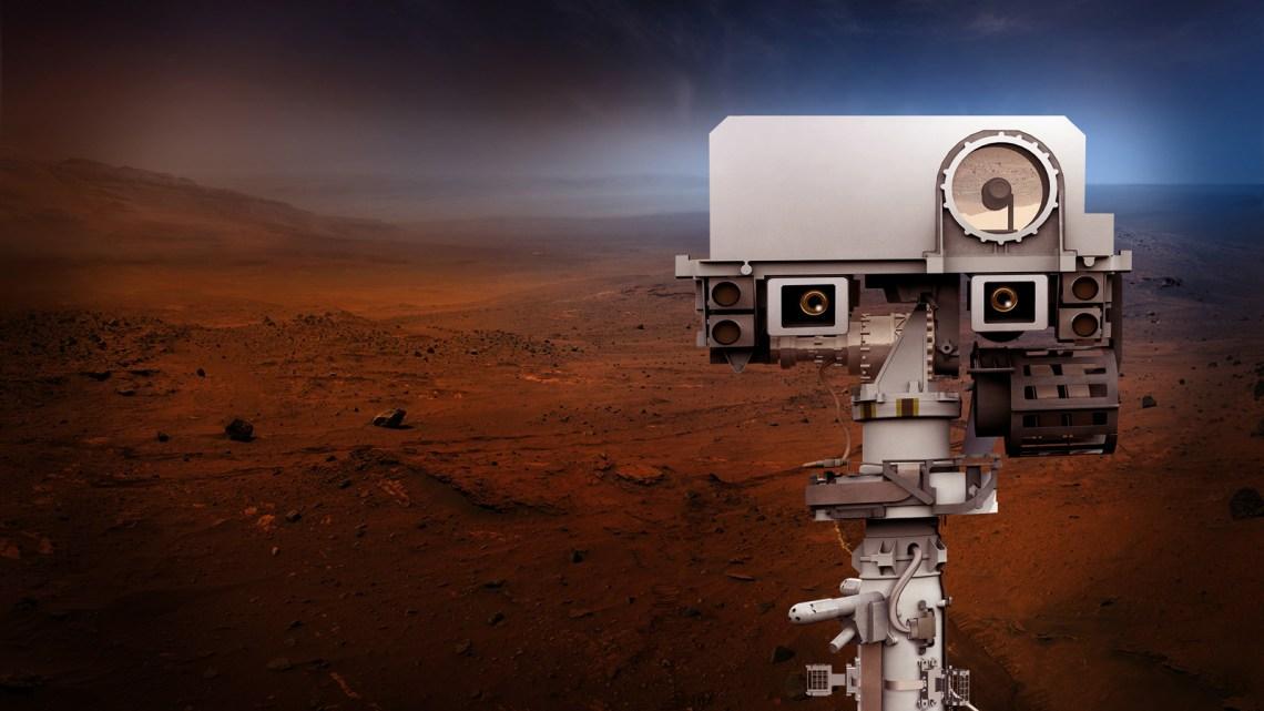 NASA Perseverance rover camera