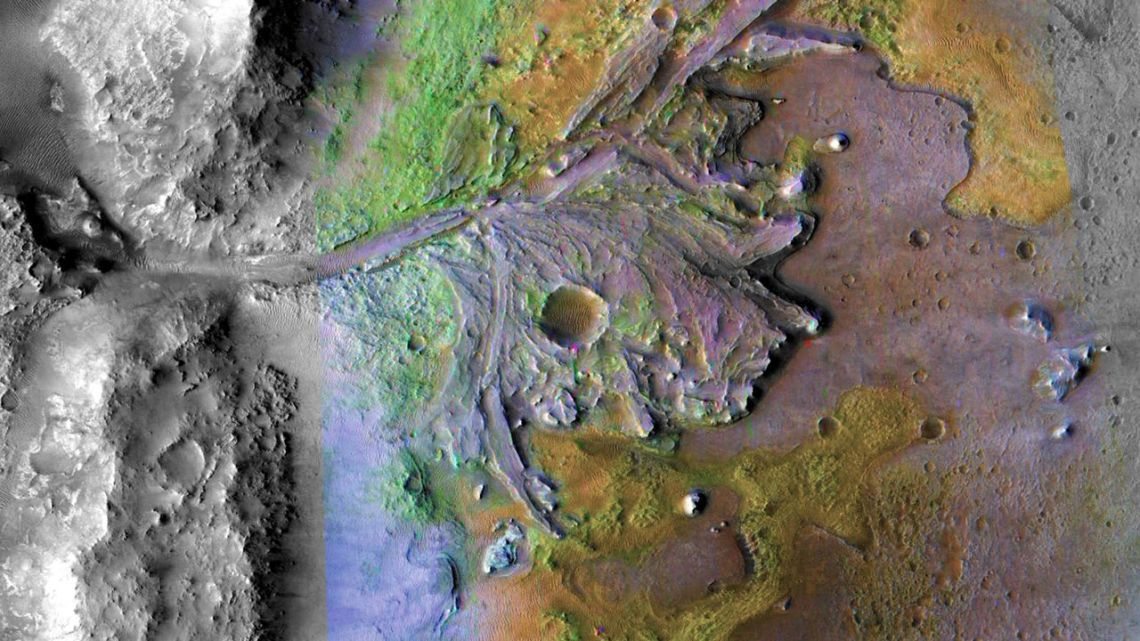 The Jezero Crater is where the NASA Perseverance rover will land and make its critical researches for fossilized microbial life.