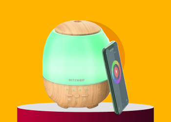 BlitzWolf® BW-FUN3 Wi-Fi Essential Oil Diffuser deal