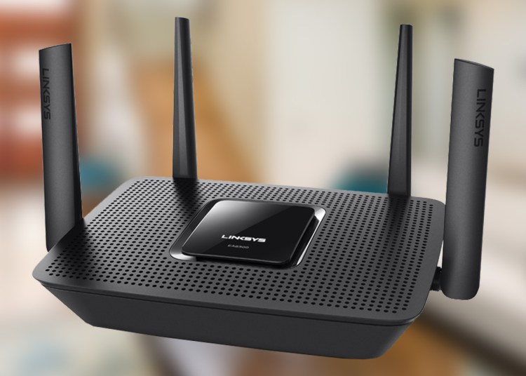 Linksys Max Stream AC3000 Tri Band Mesh Wi Fi 5 Router