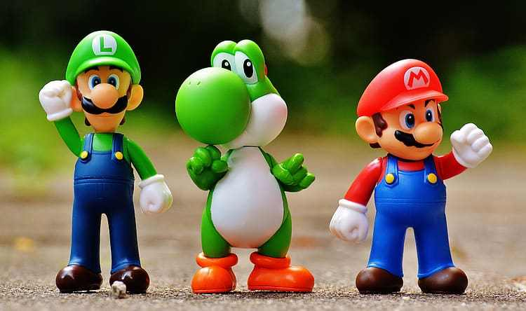 Nintendo Mario collectibles